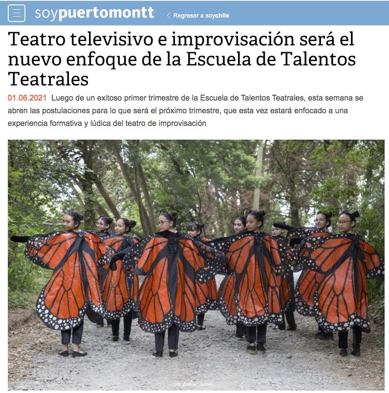 Teatro Televisivo e improvisación será el nuevo enfoque de la Escuela de talentos Teatrales